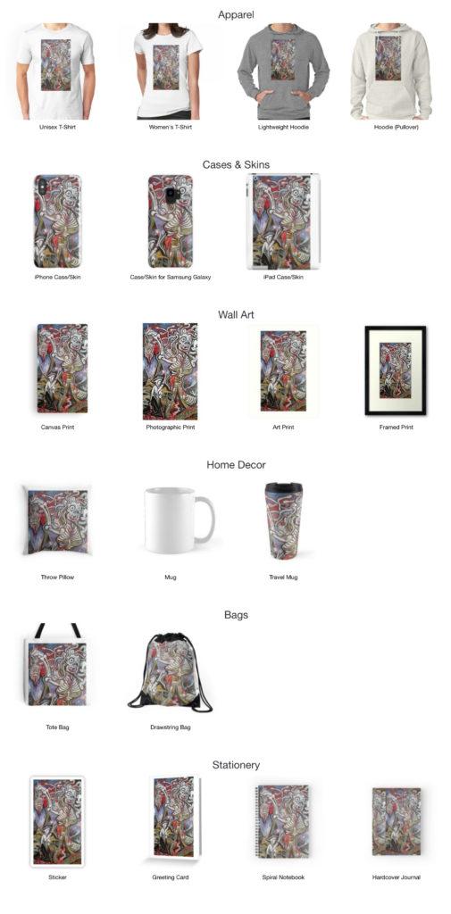 "Rick Klu ""Medusa"" Merchandise on Redbubble"